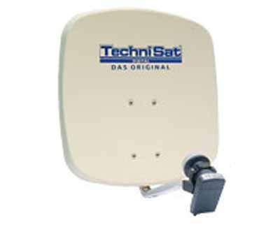 Technisat DigiDish 45 in beige Twin LNB