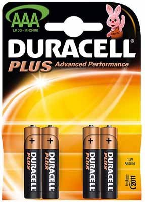 Duracell Plus-AAA(MN2400/LR03)K4 4erBlister