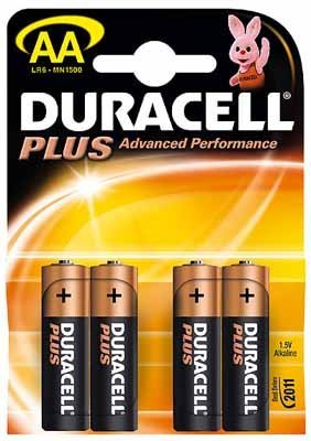 Duracell Plus-AA(MN1500/LR6) K 4 4erBlister