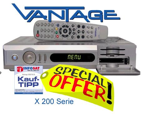 Vantage VT-X211S CI USB (10086/10091) AUSTRIA + Vantage Sex on D